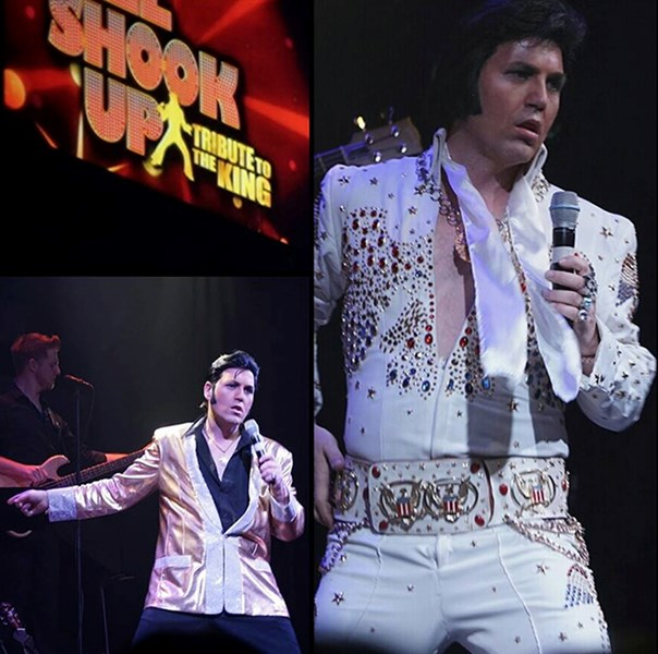 Brad performing in All Shook Up!