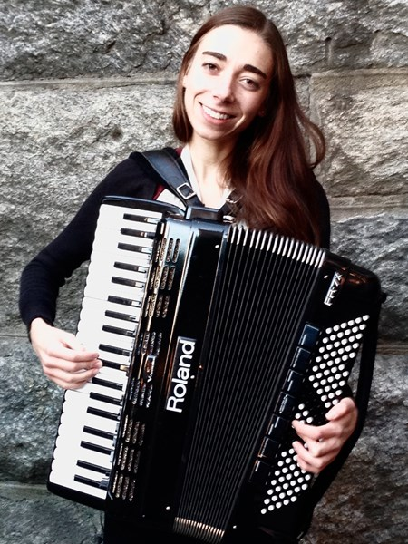 Danielle Renzi - Accordion Player - Providence, RI