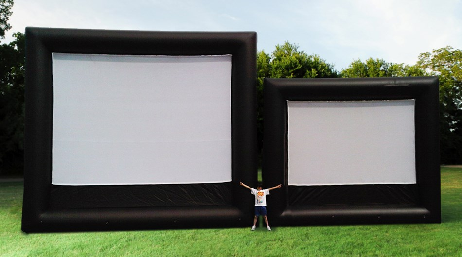 Screens sizes from 12' to 70'