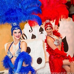 SHOWGIRLS - Hire real Las Vegas Showgirls.