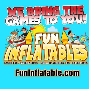Fort Worth, TX Party Inflatables | Fun Inflatables & DJ service & mobile Laser Tag