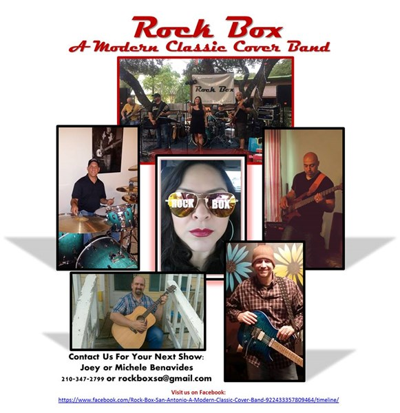 Rock Box San Antonio - A Modern Classic Cover Band - Classic Rock Band - San Antonio, TX