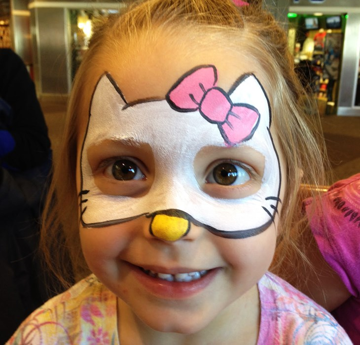 easy face painting designs - HD1600×1200