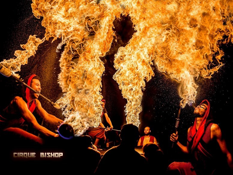 CirqueBishop - Fire Dancer - Miami, FL