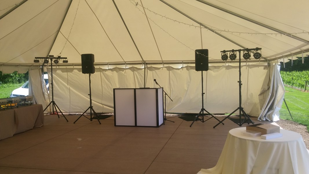 Wedding Setup - Professional look.
