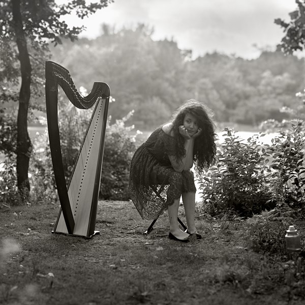 Ædan - Celtic Harpist - Bloomfield, NJ