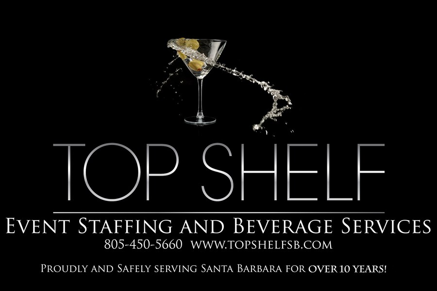 Top Shelf Event Staffing and Beverage Services - Bartender - Santa Barbara, CA