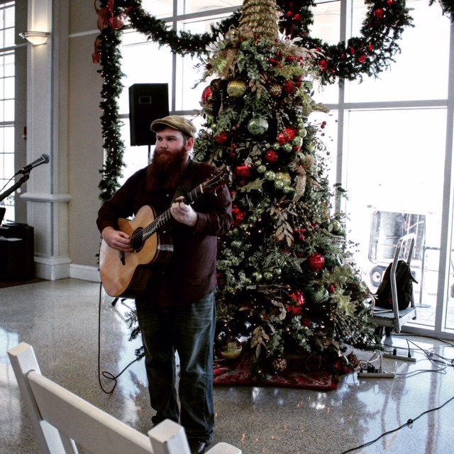 Christmas series at AGS airport
