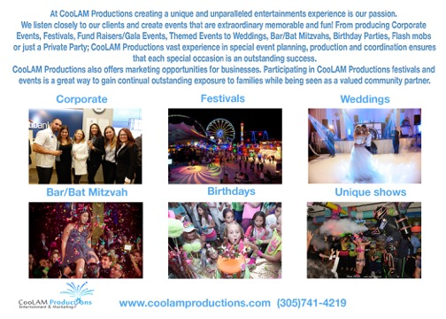 COOLAM PRODUCTIONS - Event DJ - Miami, FL