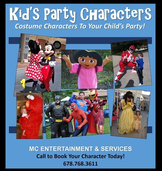 Atlanta Kids Characters, Princesses & Super Heroes - Costumed Character - Atlanta, GA