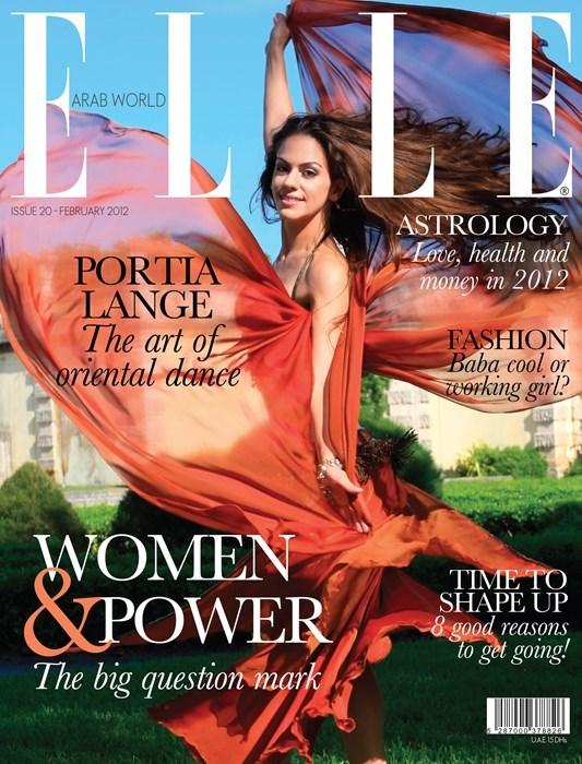 Portia on cover of ELLE 2012