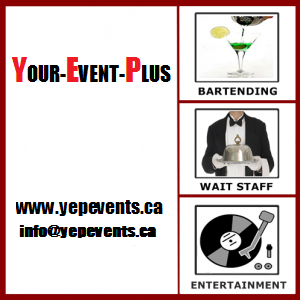 Your-Event-Plus+ - Bartender - Toronto, ON