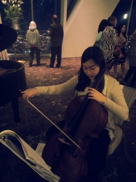 Cellist Kim - Chamber Music Trio - Baton Rouge, LA
