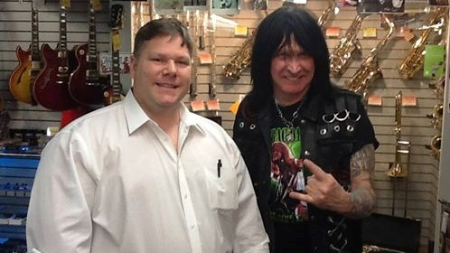 Band manager & Michael Angelo Batio