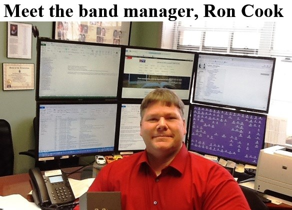 Meet the band manager, Ron Cook