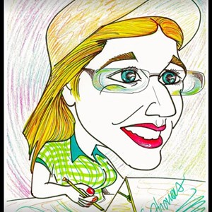 Eugene Face Painter | PARTY CARICATURES-spitting image of your guests!