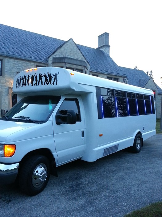 PARTY BUS FOR 24 PASSENGERS