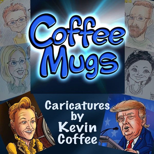 Coffee Mugs Caricatures - Caricaturist - Elkhart, IN
