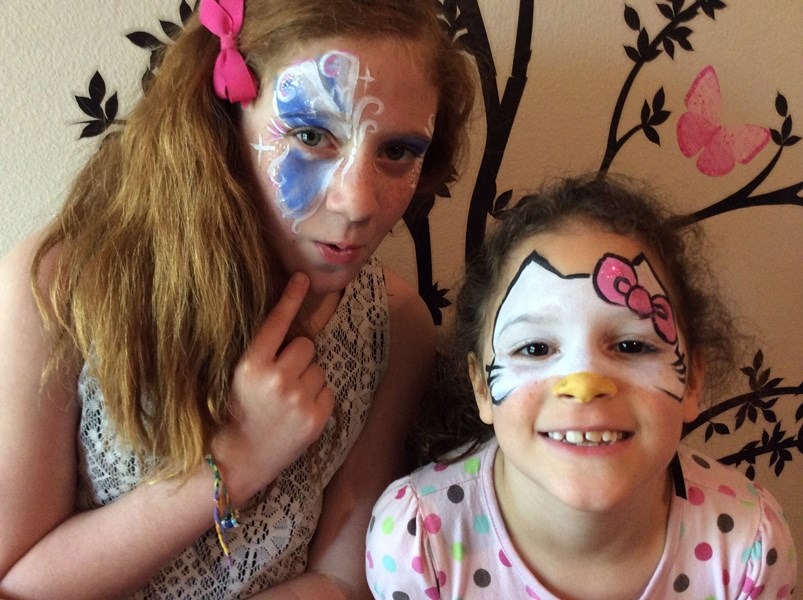 Firework Face Painting - Face Painter - Redding, CA