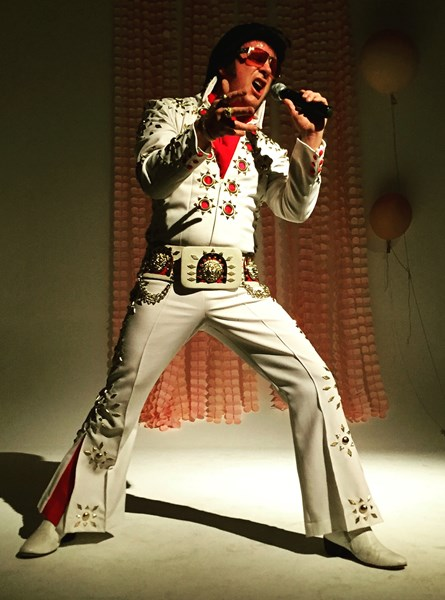 Larry D Sanders.Professional Elvis Entertainer - Elvis Impersonator - Los Angeles, CA