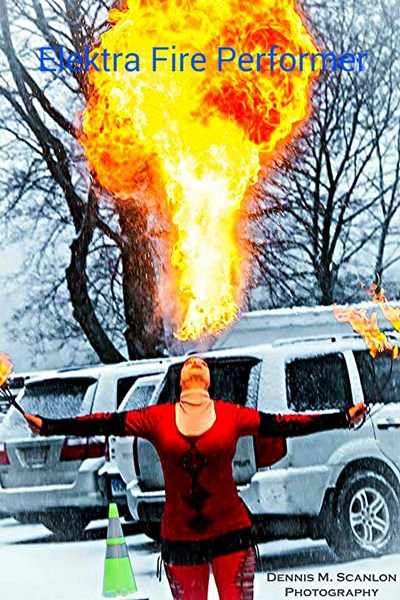 Elektra Fire Performer and entertainment - Fire Dancer - Kenmore, NY