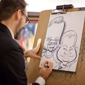 Caricatures by Corey