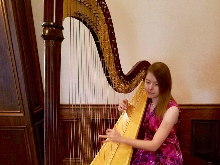 Emily Goins - Classical Harpist - Marion, IN