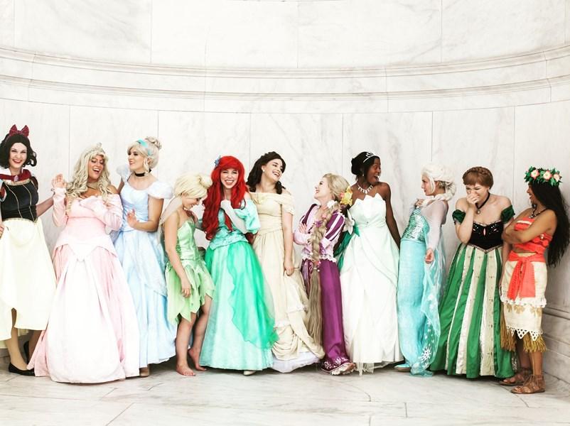 Princess Parties Of DC
