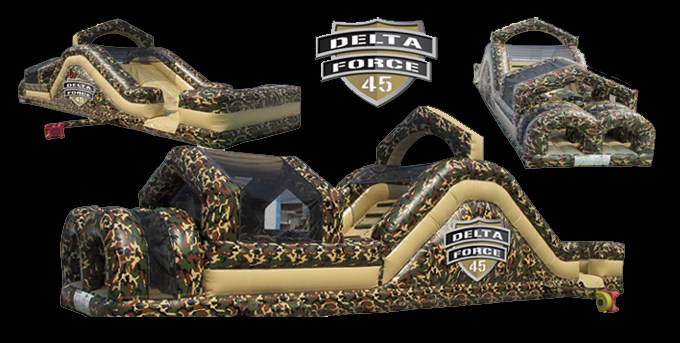 Delta Force 45' Obstacle Course