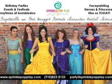 Sprinkle: Pop: Play - Princess Party - Fayetteville, NC