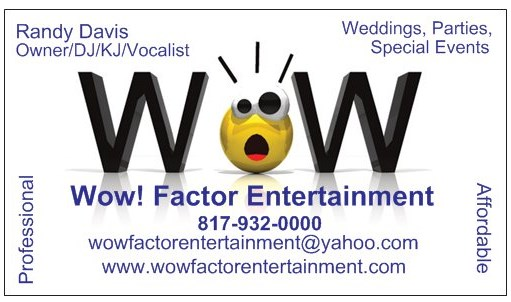 Wow Factor Entertainment - Event DJ - Dallas, TX