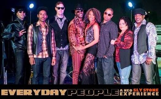 Everyday People-a Neo Sly Stone Experience - Show Band - Los Angeles, CA