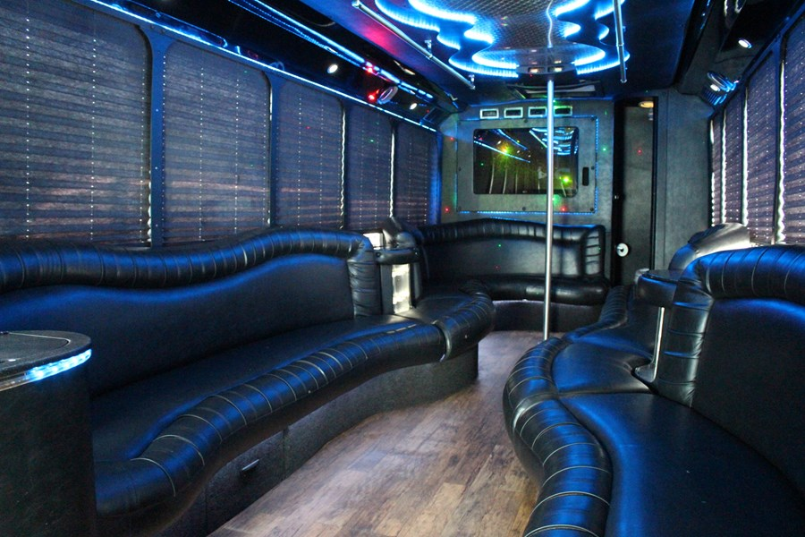GRAY'S LIMOUSINE - Party Bus - Boylston, MA