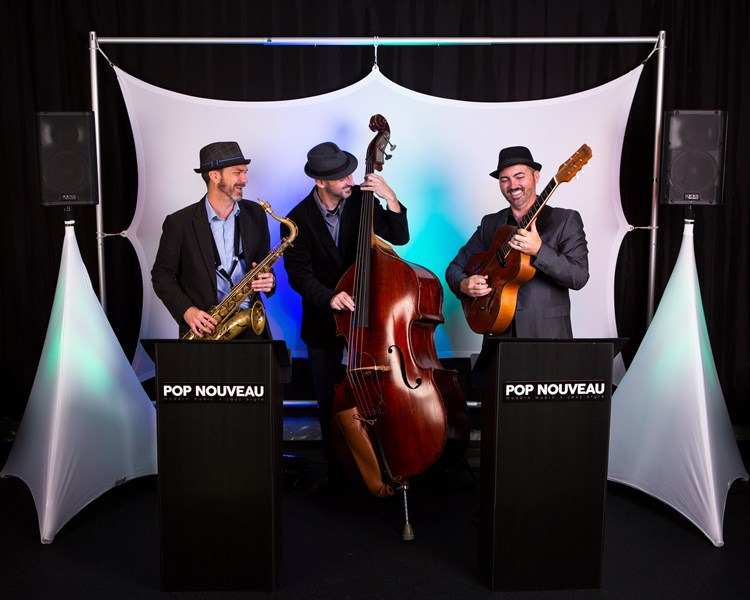 Pop Nouveau 3 Piece Band
