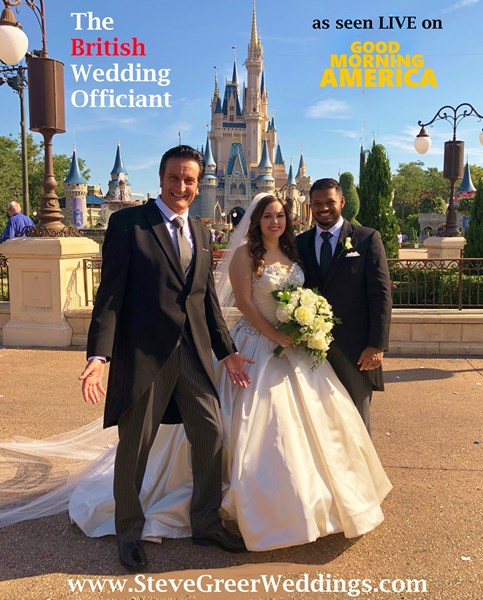 Steve Greer GMA's Royal Wedding TV Officiant! - Wedding Officiant - Orlando, FL