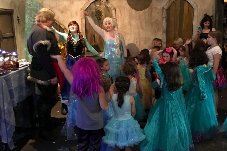 Ice Queen Cosplay Princess Parties And More Princess Party Salem Ma
