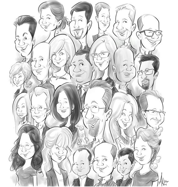 Digital Caricature Artists - Caricaturist - Miami, FL
