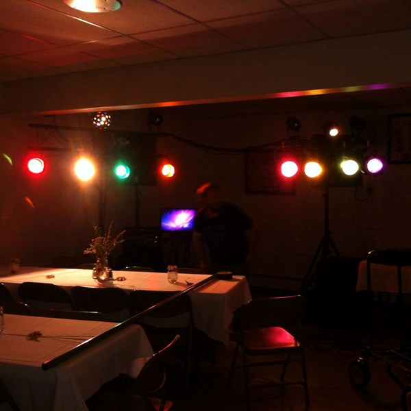 Wedding reception DJ with Karaoke