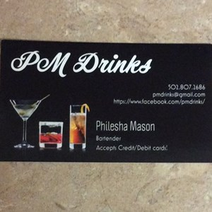 Louisville, KY Bartender | PM Drinks