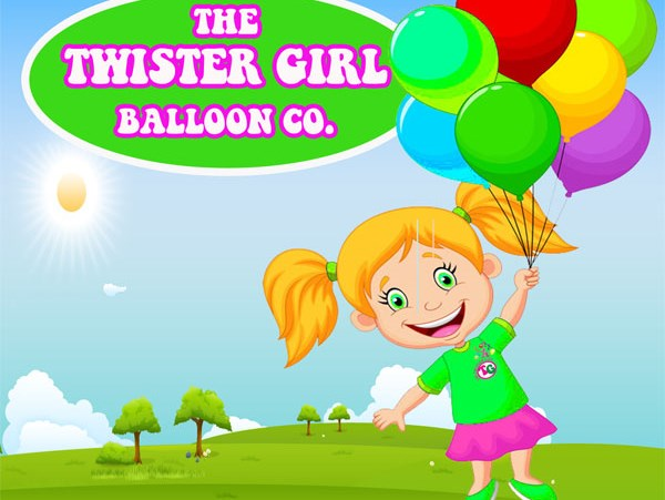 The Twister Girl Balloon - Balloon Twister - Chicago, IL