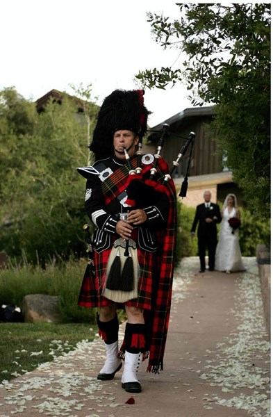 Bill MacMurchy - Bagpiper - West Linn, OR