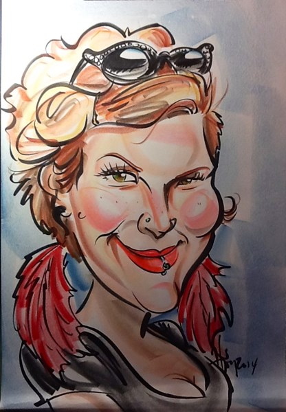 Heather Joy Thomas - Caricaturist - Austin, TX