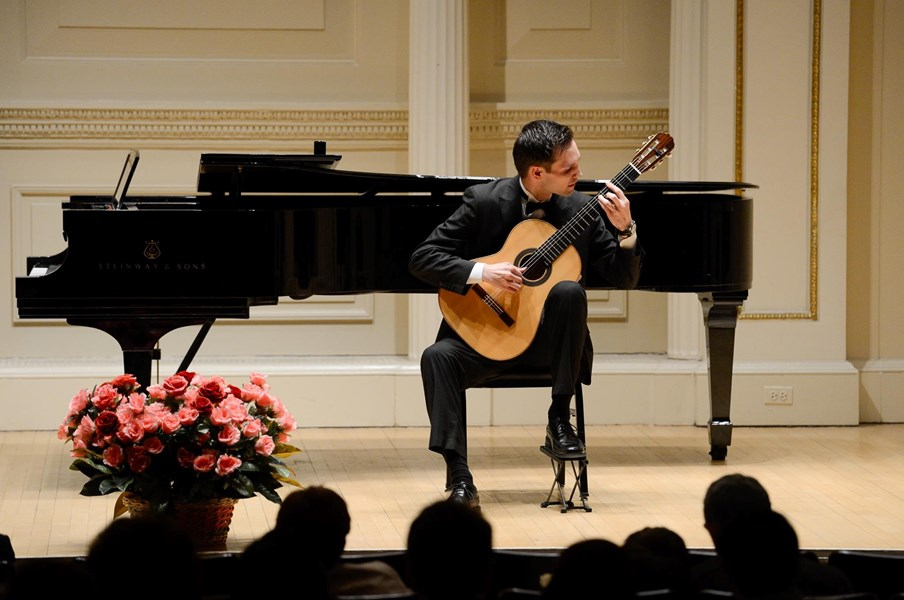 Performing at Carnegie Hall in NYC