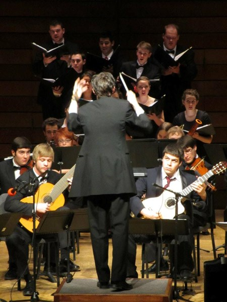 Conducting SOU Symphony Orchestra