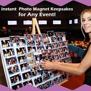 Bell Green Screen Rental | On The Spot Photo Magnets