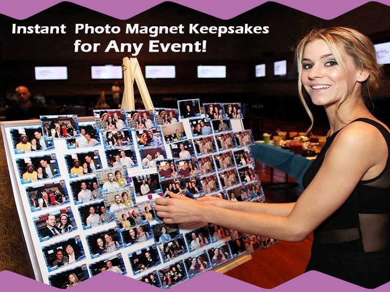 On The Spot Photo Magnets For ALL Events - Photo Booth - Miami, FL