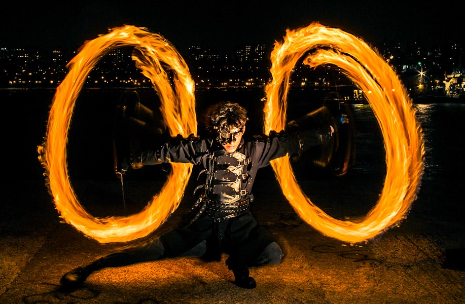 Zenbient - Fire Dancer - West New York, NJ