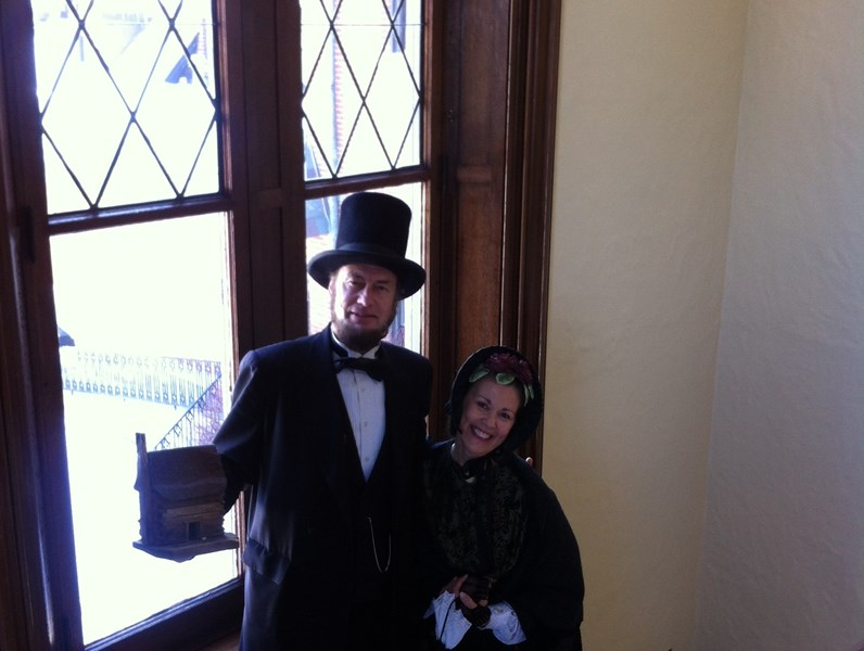 Kentucky Abe and Mary Lincoln - Impersonator - Louisville, KY