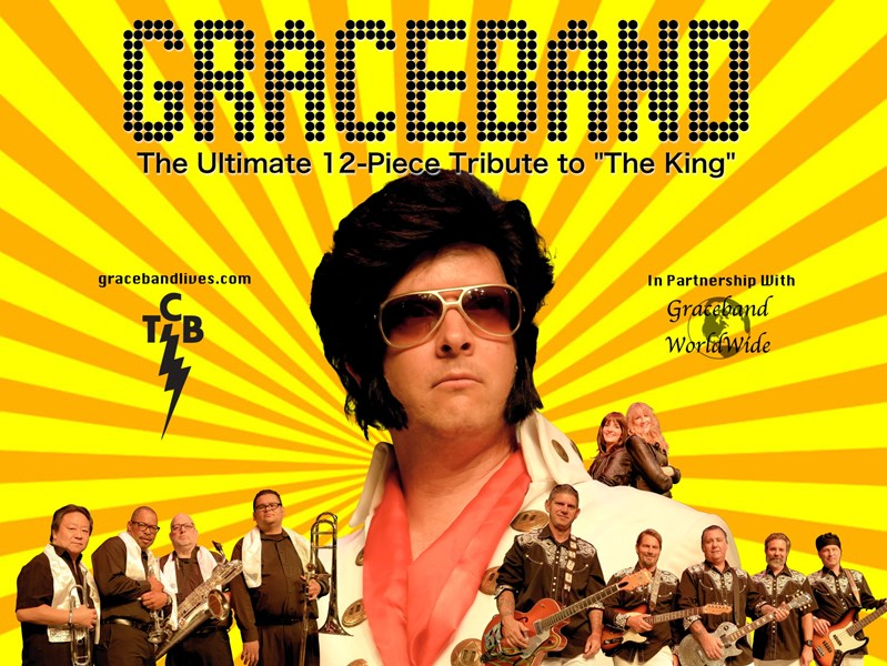"GRACEBAND: The 12 Piece Tribute to ""The King"" - Elvis Impersonator - Irvine, CA"