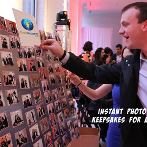 Chicago, IL Photographer | Photo Booth alternative / Photo Magnets on-site
